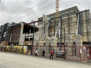 Art deco theatre facade saved as part of giant Granville Street entertainment complex