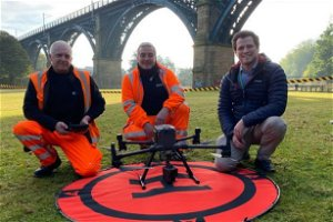 Drone technology now helping keep the Tyne and Wear Metro on track