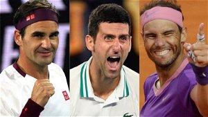 'A lot of people have been captivated by Roger Federer, Nadal, Djokovic', says star