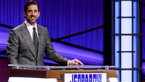 Aaron Rodgers is back behind 'Jeopardy!' podium as guest star on 'The Conners'