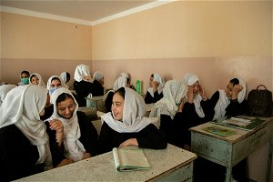 Taliban Allow Girls to Return to Some High Schools, but With Big Caveats