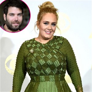Adele's Ex-Husband Simon and Son Angelo Attend Concert Special Taping