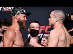UFC Vegas 26 is down to nine fights after losing slated main card bout