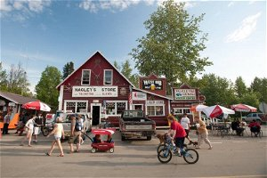 Visitors are back in Talkeetna, but it's not business as usual