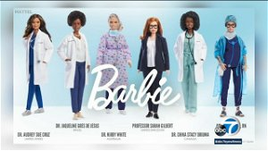 COVID-19 vaccine scientist now a Barbie doll, along with other frontline workers