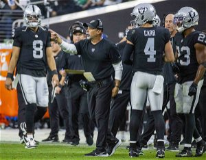 Bisaccia, Carr lead like the face of the Raiders