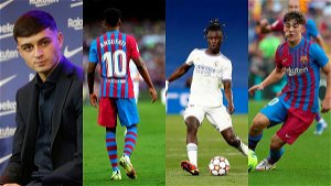 The jewels of the future for Barcelona and Real Madrid