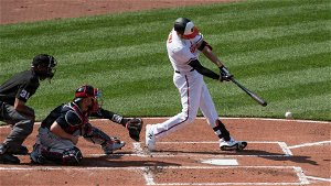 Watch Trey Mancini hit his first home run since returning from colon cancer