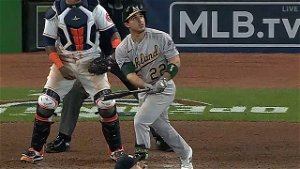 Laureano's 2-Run Shot Gives A's 7-3 Win Over Astros