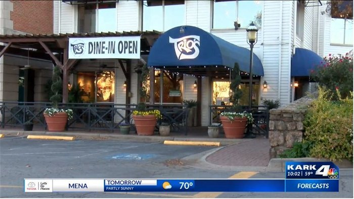 Little Rock restaurant owner limits dining room capacity hoping to help slow the spread of COVID
