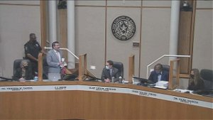 Dallas official removed from meeting for not wearing mask