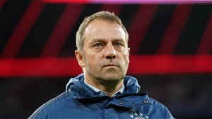 Flick vague on Bayern future amid Germany links following Champions League elimination