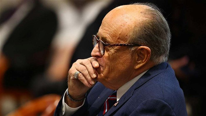 Giuliani asks judge to block review of records seized in raid of home, office