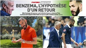 Benzema named best French player abroad... Could he go to Euro 2020?