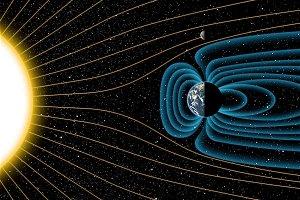 A lunar magnetic field may have lasted for only a short time
