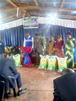 HH Donates Blocks And Cements Amounting To K30,000 To Evangelical Church In Zambia, Makeni Vila Congregation