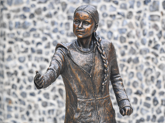 Greta Thunberg statue unveiled at Winchester university
