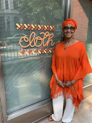 Yvonne Stennett: Cut from a different CLOTH