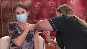 New Zealand PM Ardern gets 'pain-free' COVID vaccine shot