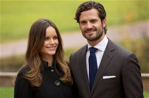 Princess Sofia and Prince Carl Philip of Sweden share a sweet snap of their growing family