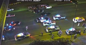 Authorities investigating after woman dies near I-10 and 91st Avenue