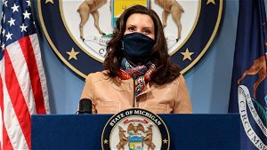 Gretchen Whitmer calls for stricter restrictions as coronavirus cases surge in US Midwest