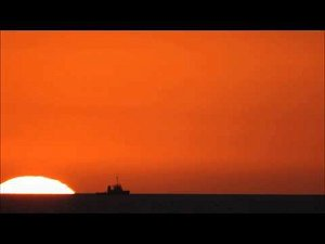Look for the legendary green flash