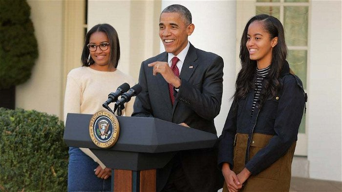 Obama says he 'couldn't be prouder' of daughters for joining protests