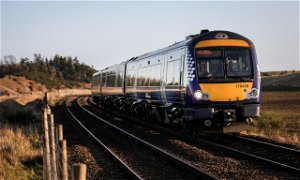 Rail services disrupted after high-speed test train derailed near Dalwhinnie
