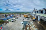 Bicol International Airport construction progress rate now at 72.2% —  DOTr