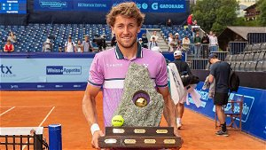 Ruud wins Swiss Open crown after beating Gaston