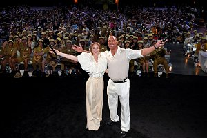 Dwayne Johnson, Emily Blunt hit the red carpet at Disneyland for 'Jungle Cruise' movie premiere