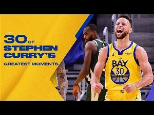 30 of Stephen Curry's Most Memorable Plays ⚡️