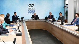 G7 summit: World leaders discuss COVID origins - as WHO keeps Wuhan lab leak theory 'open'