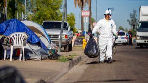 As DOJ investigates, Phoenix\u00a0says there's no evidence of illegal cleanups at homeless encampments
