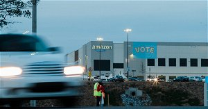Amazon gains enough votes to beat union effort, counting continues
