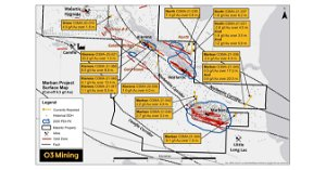 O3 Mining Expands Marban Mineralization And Provides Winter Drilling Update