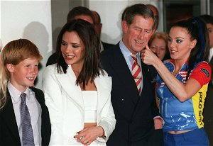 Photos That Prove The Royal Family Love Spice Girls As Much As You Do