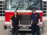 Merrimac Fire Department hires two new firefighters