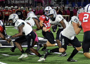 PREP FOOTBALL Eagles cruise to region win over Panthers