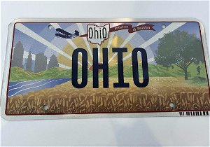 Ohio corrects Wright Brothers error on new license plates