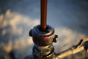 Brent falls to two-week low after inventory shock