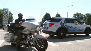Hundreds of motorcyclists hold 'Ride to Remember' in honor of fallen police officers