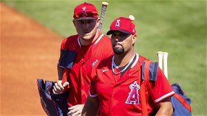 Trout says he 'broke down' over Pujols' departure from Angels - MLB
