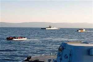 Greece searches for missing migrants off Crete