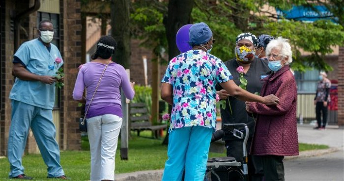 Restrictions in Ontario long-term care homes loosened as vaccination rates rise