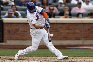 Alonso, McNeil lead Mets past Blue Jays 5-4 in Hill's debut