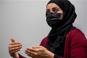 Kasar Abdulla speaks on the 'opportunity to collectively work' with vaccination clinic
