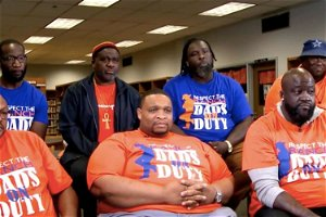 A Louisiana high school was being ripped apart by student violence so a bunch of dads rolled in and put a stop to it 💪