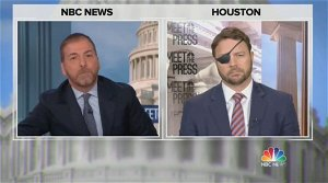 Chuck Todd Calls Out Dan Crenshaw for Blaming 'Liberal' Media Over Questions on Trump's Lies: 'Nothing Lazier Than That Excuse'